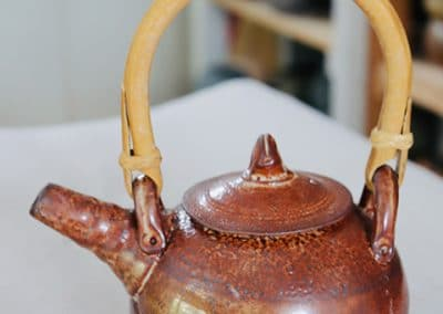 Handmade Ceramic Teapot with Handle | David Collins Pottery